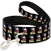 Disney Designer Pet Leash - Mickey Classic - Black