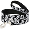 Disney Designer Pet Leash - Mickey Black and White Faces