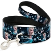 Disney Designer Pet Leash - Elsa Poses Perfect - Dark Blue