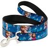 Disney Designer Pet Leash - Elsa and Anna Poses