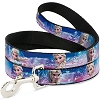 Disney Designer Pet Leash - Elsa the Snow Queen - Blue & Pink Fade