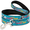 Disney Designer Pet Leash - Olaf - I LOVE WARM HUGS - Stripes