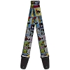 Disney Designer Guitar Strap -Mickey Mouse Colorful Comic Strip