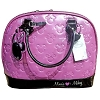 Disney Loungefly Satchel - Minnie Loves Mickey - Orchid