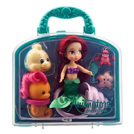 Disney Animators Collection Ariel Mini Doll Play Set