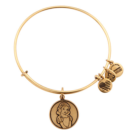 Disney Alex and Ani Bracelet - Snow White - Gold