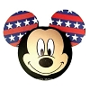 Disney Antenna Topper - Patriotic Mickey Face