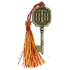 Disney Hollywood Studios Pin - Tower of Terror Hotel Key - Red Tassel
