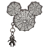 Disney Halloween Pin - Halloween - Spider Web Mickey Icon