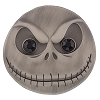 Disney Jack Skellington Pin - Jack Face - Silver Metal