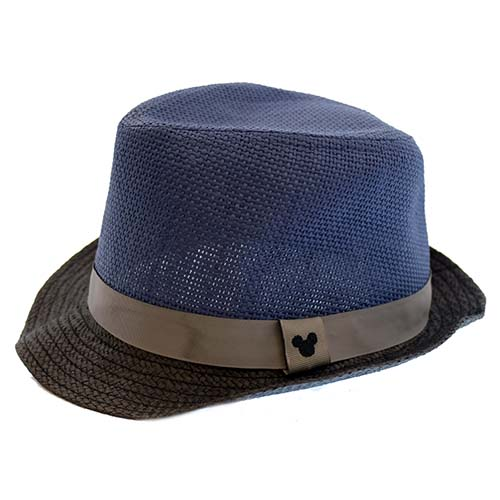 5504b631e Disney Hat - Fedora Hat - Blue - Mickey Mouse Icon