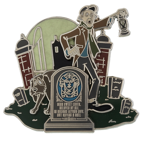 Disney GenEARation D Pin - The Haunted Mansion - Enter, If You Dare