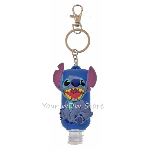Disney Keychain Keyring Hand Sanitizer Stitch