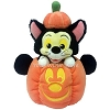 Disney Plush - Halloween Figaro in a Mickey Pumpkin 11''