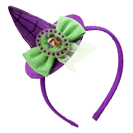 disney halloween headband minnie witch hat
