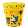 Disney Flower Pot - Alice in Wonderland - Wonderland Garden Flower Pot
