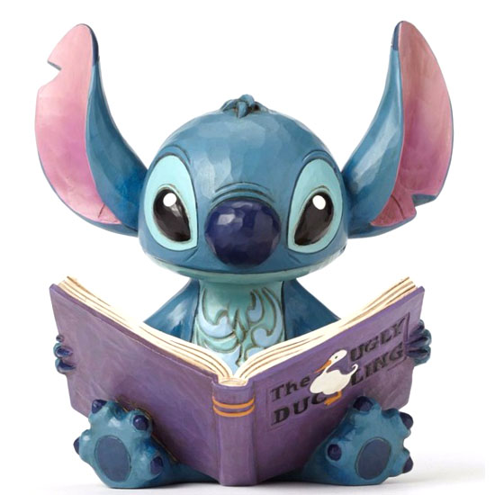 Disney Traditions By Jim Shore Stitch With Story Book