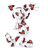 Disney by Britto Figurine - Mickey Wrapped in Hearts