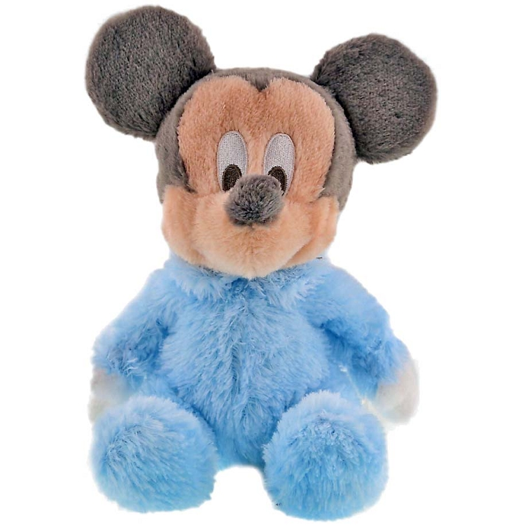 Disney Plush Baby Plush Mickey Mouse Rattle