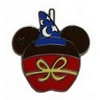 Disney Hidden Mickey Pin - 2015 A Series - Character Apples - Sorcerer Mickey