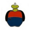 Disney Hidden Mickey Pin - 2015 A Series - Character Apples - Goofy