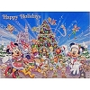 Disney Christmas Cards - Mickey and Friends Happy Holidays