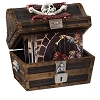 Disney Treasure Chest - Pirates of the Caribbean - 16 Coasters Inside
