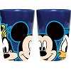 Disney Shot Glass - Fab 3 Faces Mickey Donald Goofy