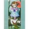 Disney Post Card - Haunted Mansion - Tightrope Girl