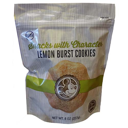 Disney Snacks With Characters - Lemon Burst Cookies  - 8 oz