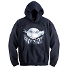 Disney Adult Sweatshirt Hoodie Jacket - Jack Skellington Graveyard