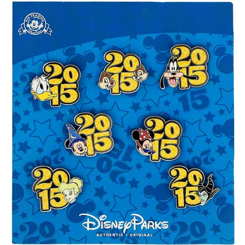 Disney Pin Trading Booster Set - 2015 Mickey & Friends