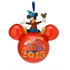 Disney Christmas Ornament - 2015 Mickey Mouse Icon - Disneyland