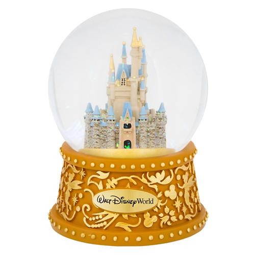 Your WDW Store Disney Snow Globe Cinderella Castle