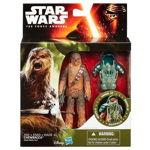 Disney Star Wars Figurine - The Force Awakens Armor Up - Chewbacca
