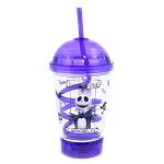 Disney Tumbler with Straw - Jack Skellington Purple Portrait Light Up