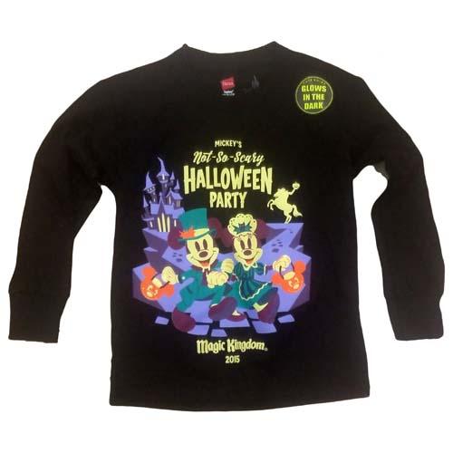 2015 Mickey/'s Not So Scary Halloween Party Special Black T Shirt Womens XXXL NWT