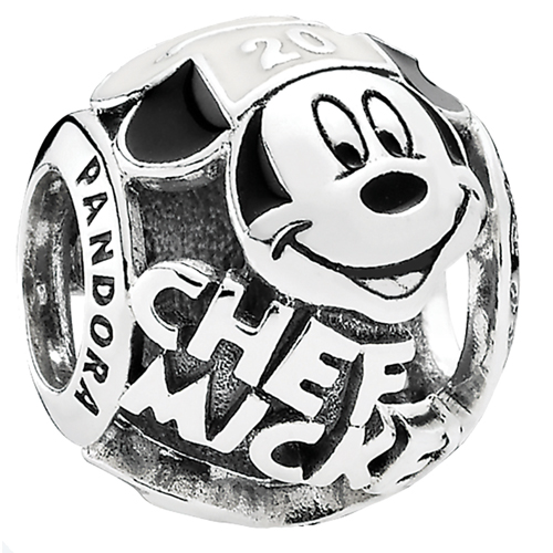 525728b15 Disney PANDORA Charm - Epcot Food and Wine - Chef Mickey 20th Anniversary.  Tap to expand