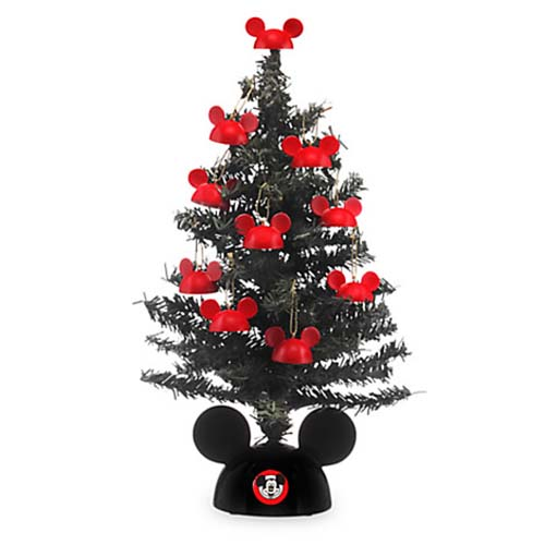 disney christmas tree miniature santa mickey tree with mailer - Disney Christmas Tree