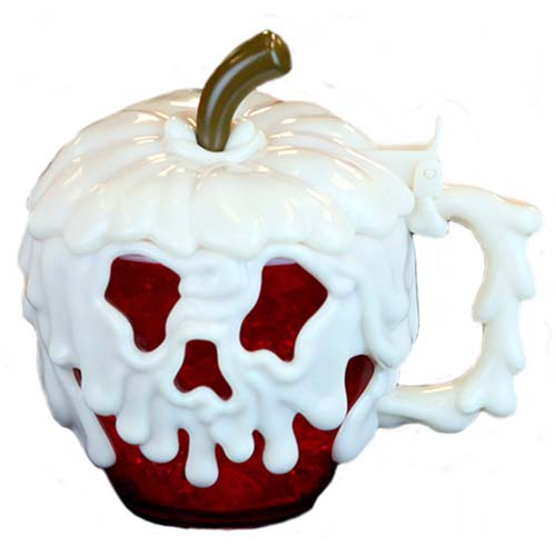 Disney Halloween Cup - Evil Hag Poison Apple - Glow In The Dark