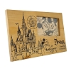 Disney Picture Frame - Blueprint of Cinderella Castle Wooden 4'' x 6''
