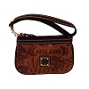 Disney Dooney & Bourke Bag - Aulani Sketch - Medium Wristlet - Brown