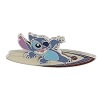 Disney Stitch Pin - Stitch Riding on Surfboard