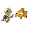 Disney Finding Nemo Pin - Squirt and Nemo Pin Set
