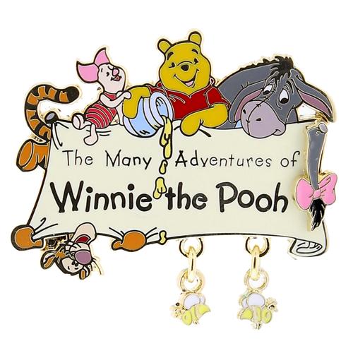 Disney Pooh Pin Many Adventures Of Winnie The Pooh