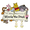 Disney Pooh Pin - Many Adventures of Winnie-the-Pooh Attraction
