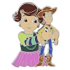 Disney Toy Story Pin - Woody and Bonnie