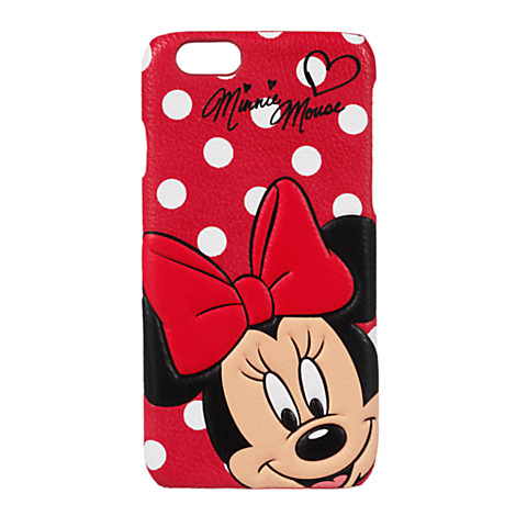 huge selection of c76a8 fe8b7 Disney iPhone 6 Case - Minnie Mouse - Leather