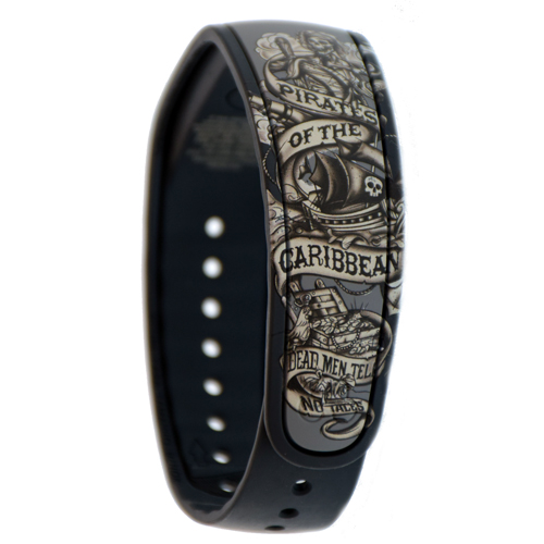 Add To My Lists Disney Magicband Bracelet Pirates Of The Caribbean