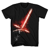 Disney Adult Shirt - Star Wars - Kylo Ren Lightsaber Tee